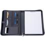 Alpine Swiss Zippered Writing Pad Business Organizer Portfolio with Tablet Sleeve