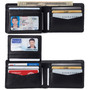 Alpine Swiss RFID Connor Passcase Bifold Wallet For Men Leather Comes in a Gift Box