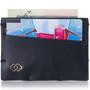 Alpine Swiss Double Diamond RFID Thin Card Holder Wallet
