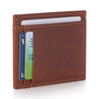 Alpine Swiss RFID Front Pocket Wallet ID Card Case