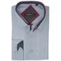Alpine Swiss Wayne Mens Long Sleeve Button Down Dress Shirt Button Front Shirt Tucked or Untucked