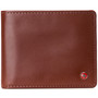 Alpine Swiss Mens Connor RFID Bifold Wallet Passcase Smooth Leather Comes in a Gift Box