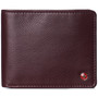 Alpine Swiss Mens Nolan Bifold Commuter Wallet Cowhide Leather RFID Safe Comes in a Gift Box