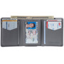 Alpine Swiss Leon Mens RFID Blocking Trifold Wallet Smooth Leather Comes in Gift Box
