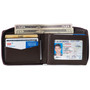 Alpine Swiss Logan Mens RFID Safe Zipper Wallet Leather Zip Around Bifold Comes in Gift Box