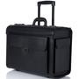 "Alpine Swiss 17"" Laptop Rolling Briefcase Wheels Attache Lawyers Case"