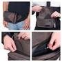 Alpine Swiss Fanny Pack Waist Bag Adjustable Belt Strap Crossbody Sling Bum Bag + Sono Travel Safety Cleaning & Disinfectant Kit