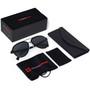 Alpine Swiss Mens Polarized Aviator Sunglasses Lightweight 100% UV 400 Protection