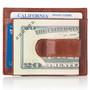 Alpine Swiss RFID Money Clip Front Pocket Wallet