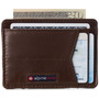 Alpine Swiss Oliver Mens RFID Blocking Minimalist Front Pocket Wallet Leather Comes in a Gift Box