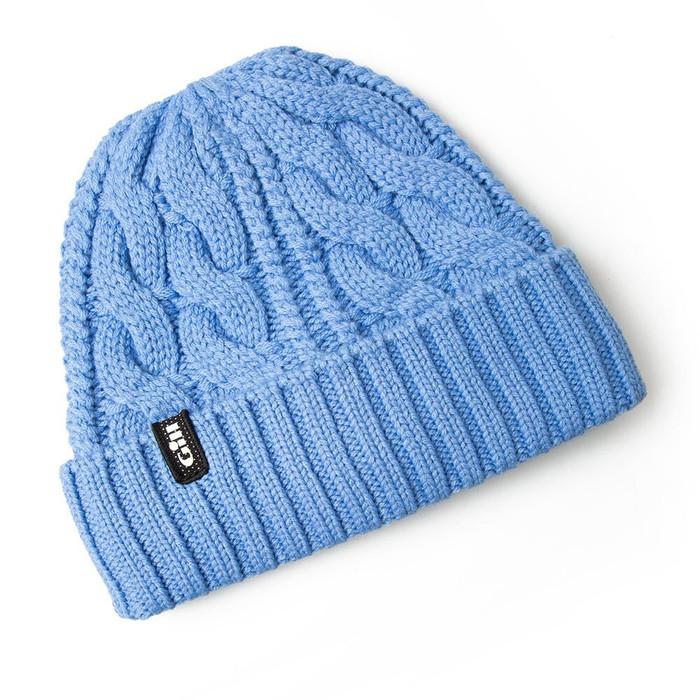 Cable Knit Beanie                                  - HT32-BLU18-1.jpg