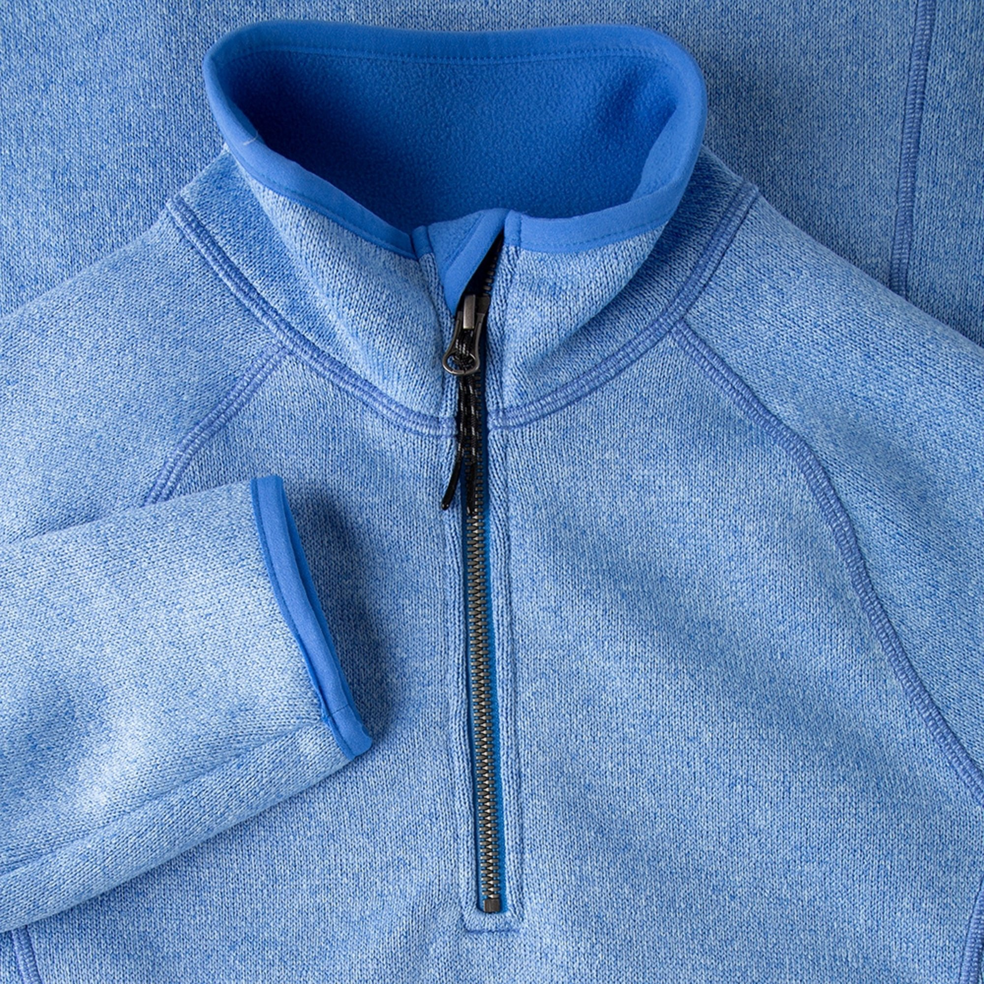 Women's Knit Fleece - 1492W-BLU18-4.jpg