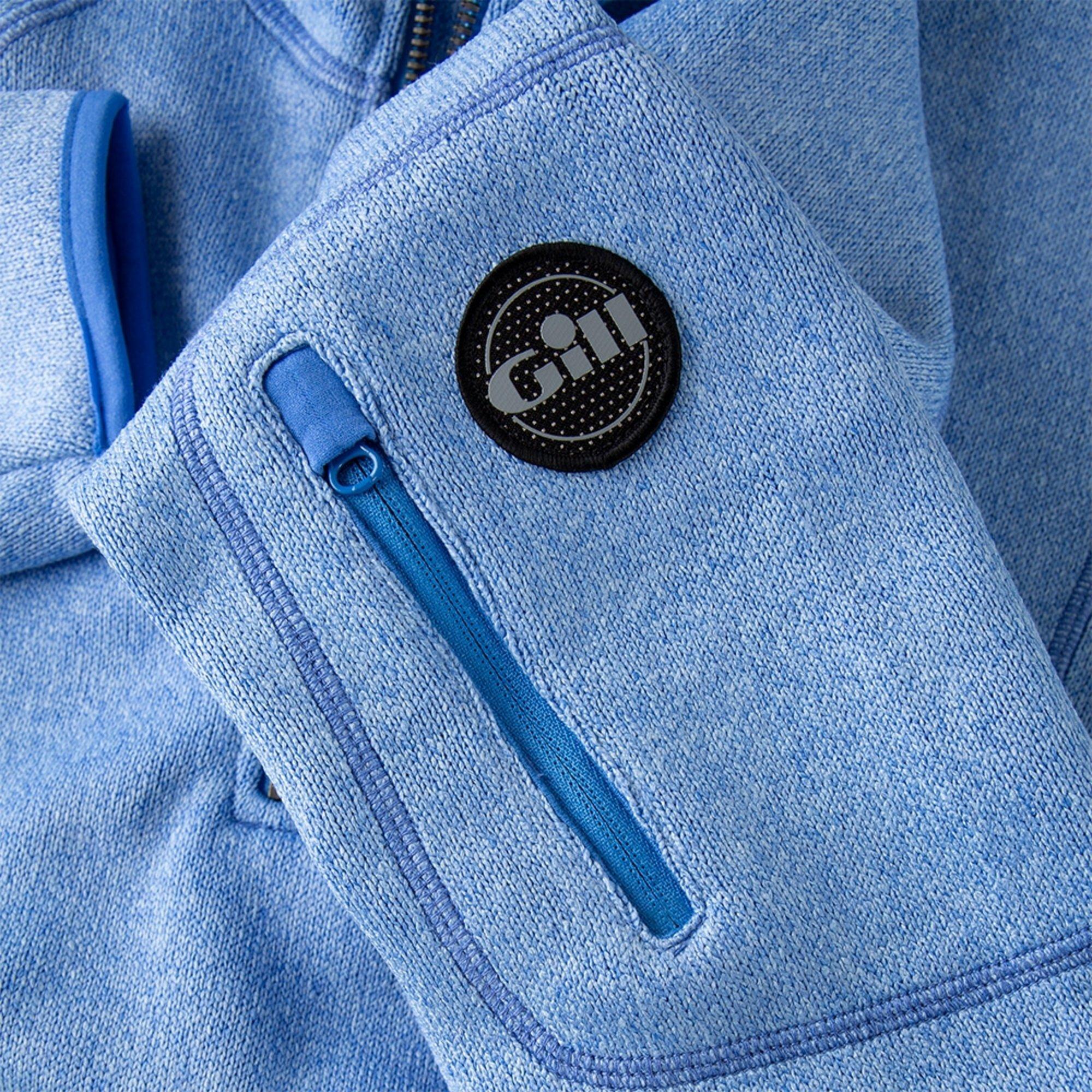 Women's Knit Fleece - 1492W-BLU18-6.jpg