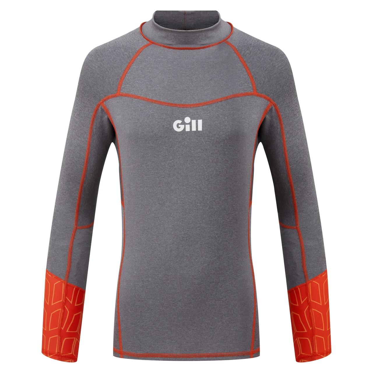 Pro Rash Vest Long Sleeve Junior - 5020J-GRE18-1.jpg