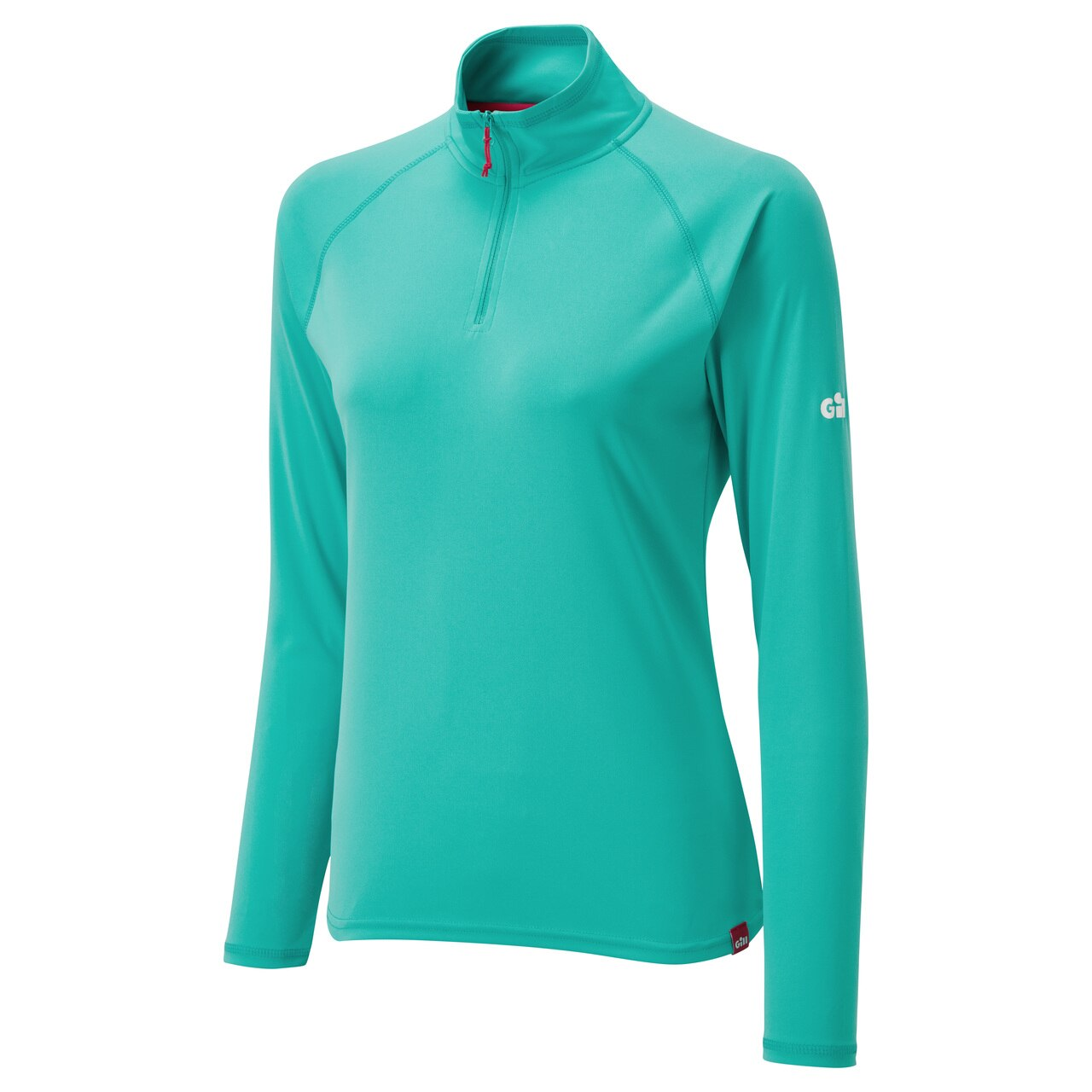 Women's UV Tec Long Sleeve Zip Tee - UV009W-TUR02-2.jpg