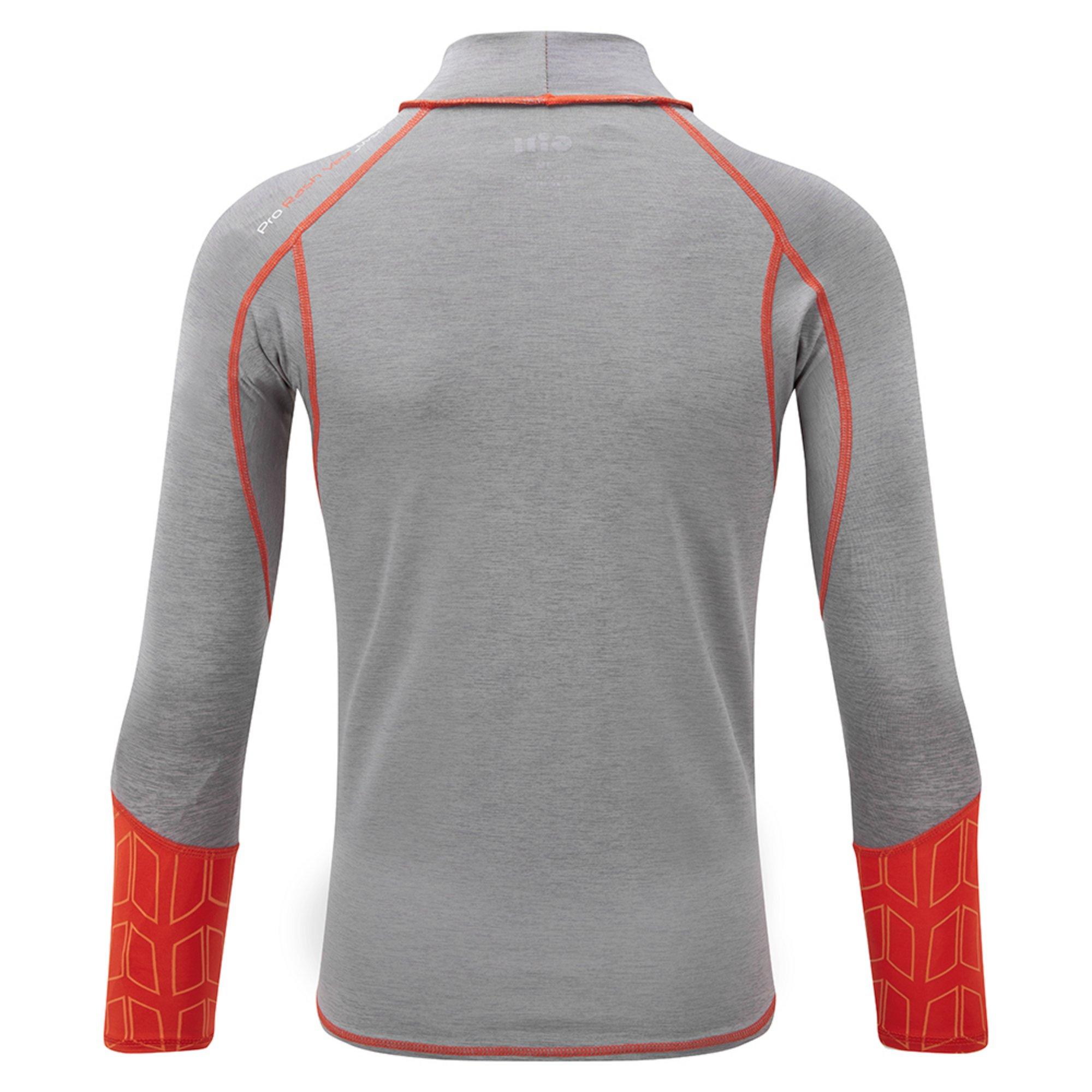 Junior Eco Pro Rash Vest Long Sleeve - 5025J-GRE18_2.jpg