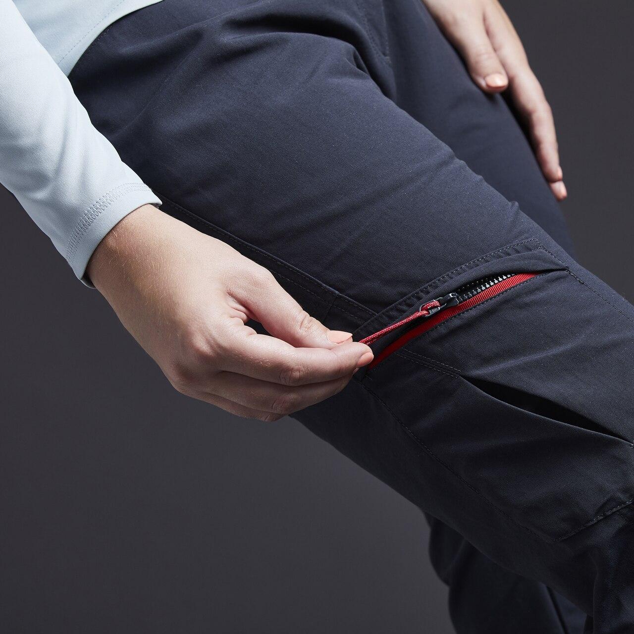 Women's UV Tec Trousers - UV014W-GRA01-MODEL-5.jpg