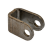 Use this cylinder bracket when the cylinder is in an odd position and can't be welded on the backside. This on is mounted on the edges of the bracket. With this cylinder bracket in place and welded properly it will be a permanent hold for your cylinder.