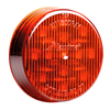 """2.5"""" Red - 13 LED's  Red, Amber, Red Clear Lens, or Amber Clear Lens  LED's 13 x 5 mm  Diameter 2.5""""  Depth 0.7""""  Mounting Grommet  Connector PL-2  Fits Standard Mounting Holes, Grommets, & Connectors  Polycarbonate Lens & Housing  100,000 Hour Rated LED"""