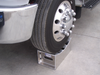 Get your vehicle off the ground with this In The Ditch Aluminum Tire Stand. Its concave design cradles the tire to let you secure the front axle and work more safely.