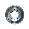 "Get reliable performance with this Aluminum Wheel with unpolished inside. The hub piloted rim features dual mounting with 10 bolt holes and a machined finish for large commercial vehicles.  - Dimensions: 22.5"" x 9""  - Weight: 60 lbs.  - Offset: 7"" 