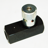 Parker's Pressure Relief Valve has a maximum pressure threshold of 5000 PSI. The valve's efficiency is brought up another level with hydraulic flow control functionality. | OEM Part Number: F600S