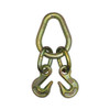 Pear Link with 2 Grab Hooks