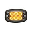 M2 Strobe LED Flasher Yellow W/ White Lens