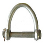 Connect synthetic web and round slings to eye bolts and other lifting hardware with these web sling shackles.