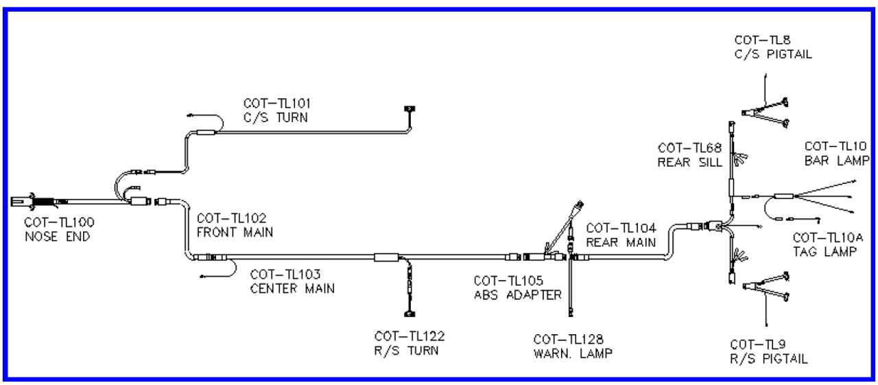 pride wiring harness diagram cottrell wiring harness kit  cottrell wiring harness kit