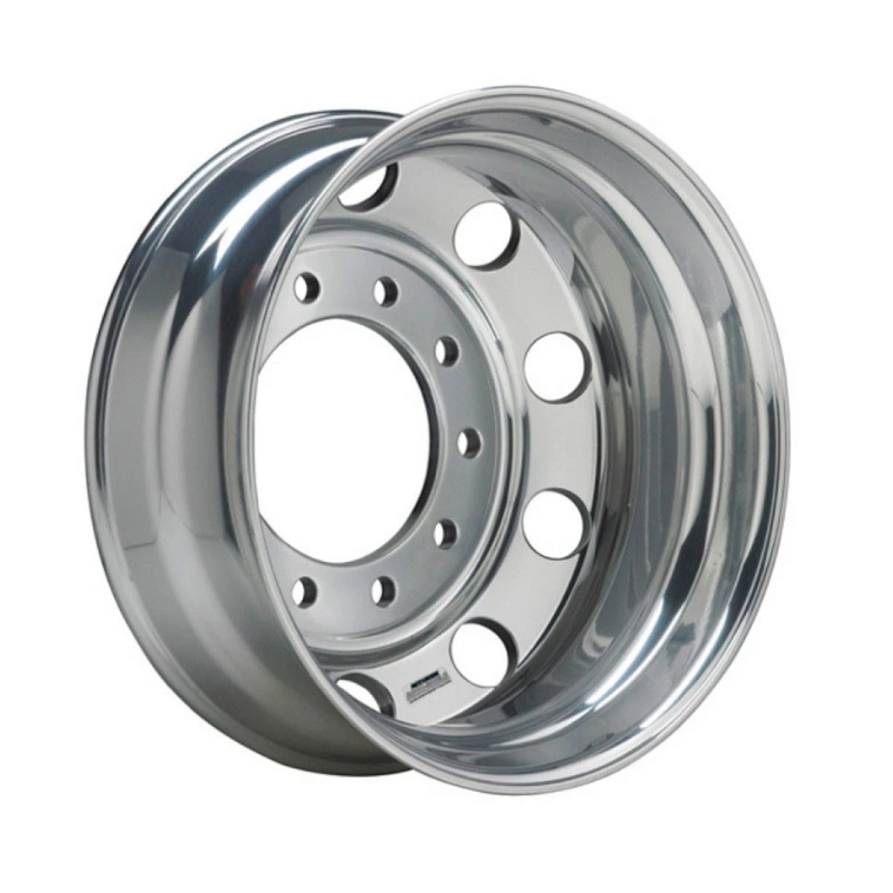 22 5 In X 9 In Aluminum Wheel Inside Polished Aws