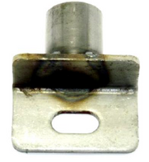 A Cottrell trailer chain idler with the slot.