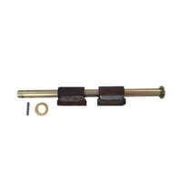 The bushings will be mounting to the trailer instead of the flipper. It comes with two bushings and two pins. 20241,COT,Cottrell