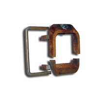 """3"""" by 5"""" lock will keep your decks into place and will prevent the deck from falling onto your smaller 3"""" by 5"""" posts.  It locks the deck into the position you need. 971053X5,COT,Cottrell"""