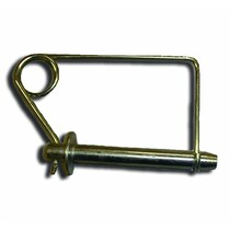 "Large Loxall Pin 5/8"" x 5/ ½"" is a large type of diaper pin. This pin will fit through the post to secure the deck into the place were you would like it. Simply slide the clip off the end of the pin, slide the pin into place and slip the clip back ov"