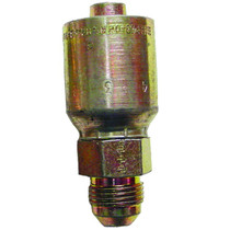 Use this Crimp Straight connector to ensure hoses are properly connected. It's made of long-lasting materials for durability, and its male configuration lets you install it quickly where it's needed.