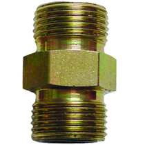 "3/8"" (#6) Seal LOK Straight Thread This union will connect two female Seal LOK Straight Thread fittings. Made of steel, zinc plated to help prevent rusting. 6HLO-S,PAR,Parker"