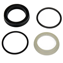 "Actual measurement is 2 1/2"", with a rod size of 1"". This kit includes four seals that will need to be replaced in the packing nut. MAS04537,COT,Cottrell"