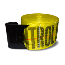 Confidently secure your truck load with this Over-The-Wheel Tie-Down Strap. Its heavy-duty construction has a flat hook to prevent the load from shifting on your vehicle during transit.