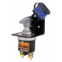 Cut current flow from the vehicle power source fast with The Big Switch lock-out assembly. It lets you meet OSHA lock out/tag out requirements and is easy to install following manufacturer's instructions.  - Handles 250 amps continuously  - Handles 2,500 amps for 5 sec. | OEM Part Number: FR1005