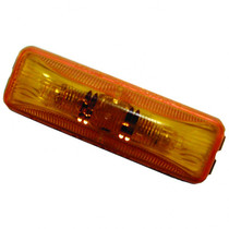 Make your vehicle more visible on the road with this TruckLite LED Marker Light. Its amber color and four-diode pattern increase your safety by making it easier for others to see you.