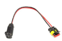 Hook up the lights for your trailer using this TruckLite Light Pigtail. The 3-prong female connector converts the connection to an LED Fit and Forget connection to make it easier to ensure your trailer's lights are working.   OEM Part Number: 94706-3BULK