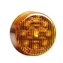 Equip your vehicle with this 2-in. amber Maxxima Round Clearance Marker. It includes nine LED's for optimal visibility, and its housing and lens are made from polycarbonate to resist scratches and nicks from everyday use. | OEM Part Number: M09100Y