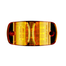 Maxxima 4in Combination Clearance Marker - Amber