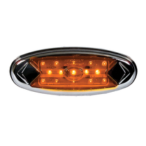 "Illuminate surroundings with this Maxxima Pete Light. It has 15 LEDs for visibility, and the 100,000-hour-rating means this light is in it for the long haul. Installation is a breeze using the snap on bezel that comes ready to mount with screws included.  - Length 5.9""  - Height 2.15""  - Diameter 0.9""  - LEDs 5mm Diodes  - Voltage 12.8 VDC 