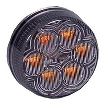 Vantage Amber Clr. - 6 LEDs LEDs 6 x 5 mm Diameter 2.00 Depth 0.7 Mounting Grommet Connector PL 2 Circular LED Pattern Polycarbonate Lens & Housing Fits Standard Mounting Holes, Grommets, & Connectors 5 Year Warranty M34260YCL,MAX,Maxxima