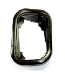 """4"""" x 5"""" tail light grommet is designed for flush mounting lights of the 45 series. These thick rubber grommets will keep a tight hold on the taillights when they are mounted in the tail light box."""