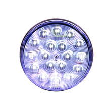 Let everyone around you know when you are backing up when you use the Maxxima Lighting Back Up Light. It has 18 LED lights, is made of polycarbonate and uses a nickel-plated brass connector for a stable connection even in inclement weather.  - Diameter: 4 in. | OEM Part Number: M42324