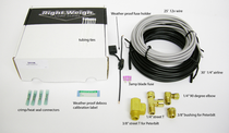 Use these components to measure an accurate weight for your haul with this E-Z Weight Install Kit. Its multiple parts help your scale to provide exact measurements.   | OEM Part Number: 200K/201FK