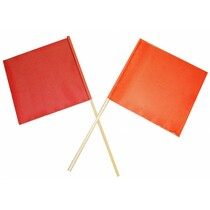 "Orange With 5/8"" Wooden Dowel - 18"" x 18"" 10224-OWP, OWP,Oversize Warning Products, Semi-Trailer Accessories, Parts"